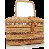 CULT GAIA raffia bag - Borse con fibbia -