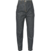 CYCLAS high rise cropped jeans - Jeans -