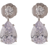 CZ By KENNETH JAY LANE Silver-tone cryst - Earrings -