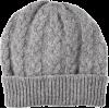 Cable Knit Cashmere Hat - Hat -