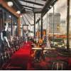Café de Flore Kal Gajoum Painting - Ilustracije -