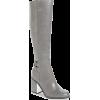 Calvin Klein Grey Knee High Boot - Сопоги -