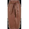 Camel Leather-Look High Waist Pencil Ski - Krila - £22.99  ~ 25.98€