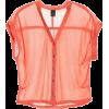 Camisa Laranja - Camicie (lunghe) -