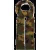 Camouflage-jacquard wool scarf - Schals -
