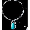 Campitos turquoise pendant - Halsketten - $153.00  ~ 131.41€