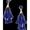 Cannes tassel earrings - Naušnice -