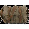Canvas Military Messenger Bag - Messenger bags - $89.99