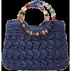 Cappelli Handmade Straw Handbag - Carteras -