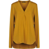 Carla G ochre yellow T shirt - Long sleeves shirts -