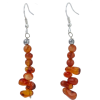 Carnelian Earrings - Earrings -