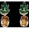 Carolina Herrera ARCIMBOLDO PINEAPPLE EA - Earrings -