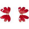 Carolina Herrera BIG JASMINE EARRINGS - Серьги -
