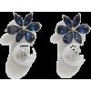 Carolina Herrera CRYSTAL JASMINE DROP EA - Earrings -