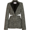 Carolina Herrera Cutout Checked blazer - Jacket - coats -