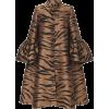 Carolina Herrera Tiger Jacquard Coat - Jacket - coats -