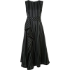 Carolina herrera pinstripe dress - Obleke -