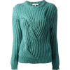 Carven knit jumper in teal - Pullovers -