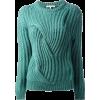 Carven knit jumper in teal - Maglioni -