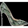 Casadei Blade snakeskin pumps - Scarpe classiche -