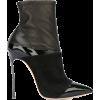 Casadei pointed toe heeled booties - Čizme -