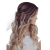 Casual half-updo - Other -