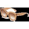 Cat-Eye Acetate Sunglasses - Gafas de sol -
