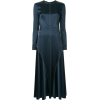 Cédric Charlier fitted panelled dress - Dresses -