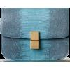 Celine Classic Lizard Box Bag - Hand bag -