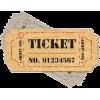 Ceres Rail Company ticket - Items -