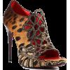 Cesare Paciotti Strassed Womens Leopard - Klasične cipele -