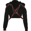 Chain letter ribbon design cool cool swe - Long sleeves t-shirts - $27.99