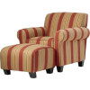 Chair and Ottoman - Meble -