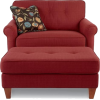 Chair and Ottoman - Furniture -