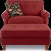 Chair and Ottoman - Namještaj -