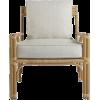 Chair and Ottoman - Arredamento -