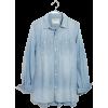 Chambray Classic Ex-Boyfriend Shirt in E - Hemden - kurz - $72.00  ~ 61.84€
