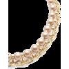 Champagne Pearl Bib Necklace Zenzii  - Halsketten - $43.00  ~ 36.93€