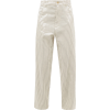 Chanda striped cotton trousers - Spodnie Capri -