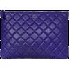 Chanel Purple Lambskin Leather - Сумочки -