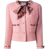 Chanel Vintage Boucle Jacket - Chaquetas -