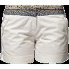 Charling Shorts White Shorts - 短裤 -