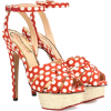 Charlotte Olympia polka-dot sandals - Classic shoes & Pumps -