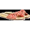 Charlotte Olympia polka-dot slides - Sandals -