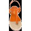 Charlotte Olympia rattan sandals - Japanke -