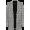 Checked blazer - Marynarki -