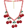 Cherry Necklace - Necklaces -