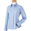 Chestnut Hill Women's Executive Performance Pinpoint Oxford. CH620W Light Blue - Long sleeves shirts - $29.99
