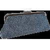 Chic Metallic Swirled Pattern Hand Beaded Rhinestones Closure Framed Evening Bag Clutch Purse Handbag with 2 Detachable Shoulder Chains Gray - Torbe s kopčom - $29.99  ~ 25.76€