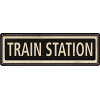 Chico Creek Signs Train Station - Items -
